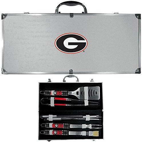 NCAA Georgia Bulldogs 8 pc Tailgater BBQ Set