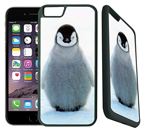 [TeleSkins] - Cute Baby Penguin- Designer Case For iPhone 6 / 6S - Ultra Durable Slim Thin Fit and Highly Protective Rubber TPU Silicon Snap On Back Case / Cover for Girls. [Fits iPhone 6 & 6S]