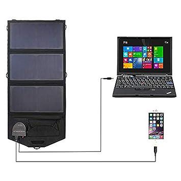 JAYE Cargador Solar para teléfono móvil, Cargador Solar ...