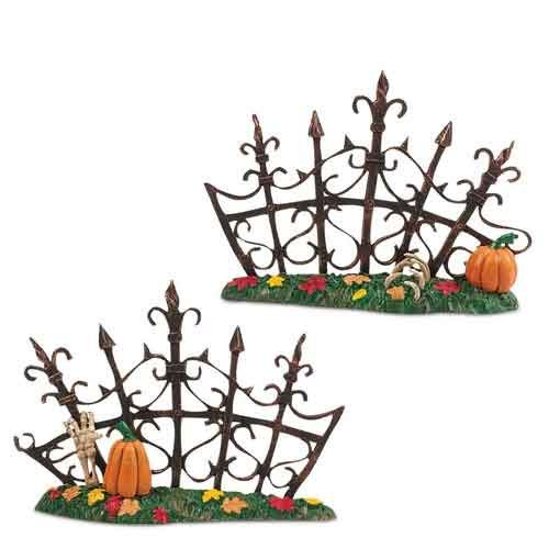 Gothic Gate Fence, Set of 2