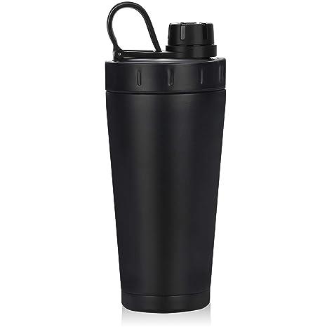 Amazon.com: Homiguar botella mezcladora de acero inoxidable ...