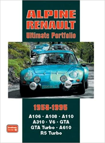 Alpine Renault Ultimate Portfolio 1958-1995: R.M. Clarke: 0793486118733: Amazon.com: Books