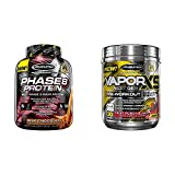 x5 vapor - MuscleTech Phase8 Protein Powder, Sustained Release 8-Hour Protein Shake with Performance Series Vapor X5, Next Gen Pre-Workout Powder, Fruit Punch Blast