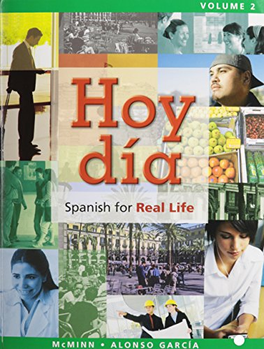 Hoy dia: Spanish for Real Life, Volumes 1 and 2, Books a la Carte Edition
