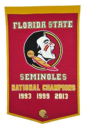 Ncaa National Championship Banner - Winning Streak NCAA Florida State Seminoles Dynasty Banner