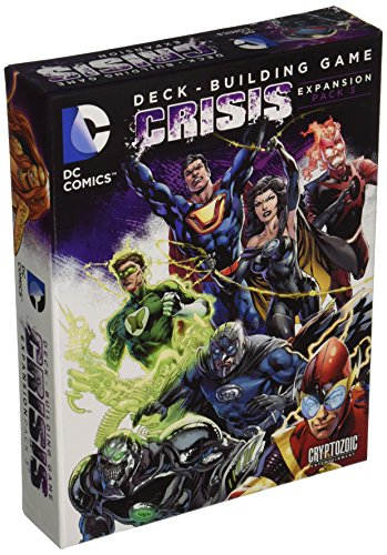 DC Comics DBG Crisis Exp 3 Card Game