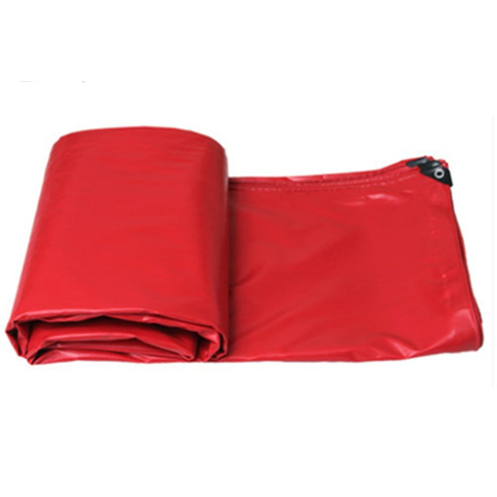 JIANFEI オーニング 防水耐寒性日焼け止め耐久性耐摩耗性PVC厚さ0.5mm 5色カスタマイズ可能 (色 : Red, サイズ さいず : 7.8x5.8m) B07FYKD7BM 7.8x5.8m Red Red 7.8x5.8m