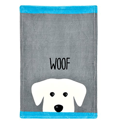 Territory Puppy Love Gift Set with Fleece Blanket Bone Toy and Canvas Storage Bin by Territory (Image #3)