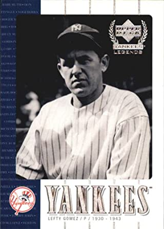 Amazon Com 2000 Upper Deck Yankees Legends Baseball Card 41