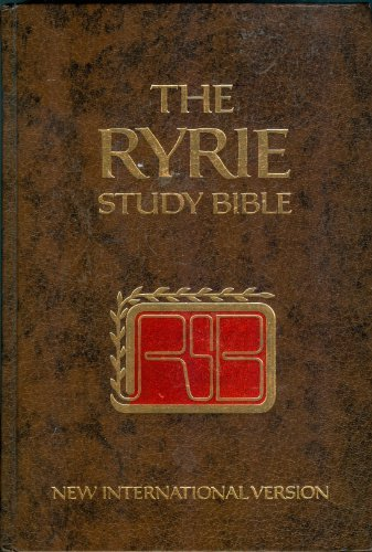 The Ryrie Study Bible: New International Version - Red Letter Edition