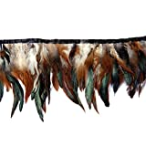 Cocktail Feather,Hgshow High quality feathers Fringe Trim quantity Size 72-Inch