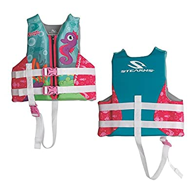 Coleman Stearns Puddle Jumper Child Hydroprene Life Vest - Seahorse from Coleman