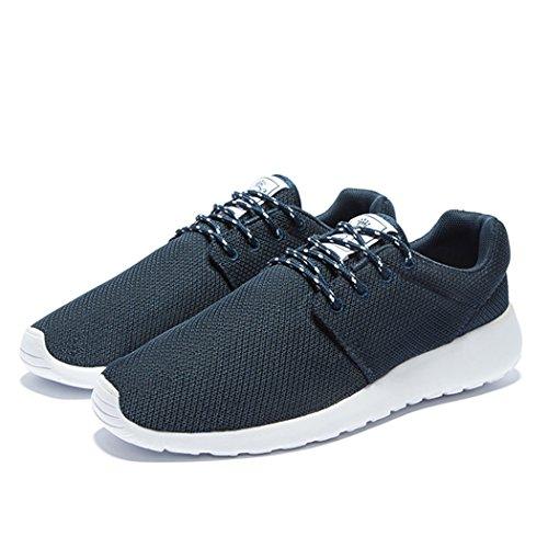 Daillor et pour marche Chaussures Air pour running de foncé maille bleu Sneakers femme homme breathing en gqrUxg