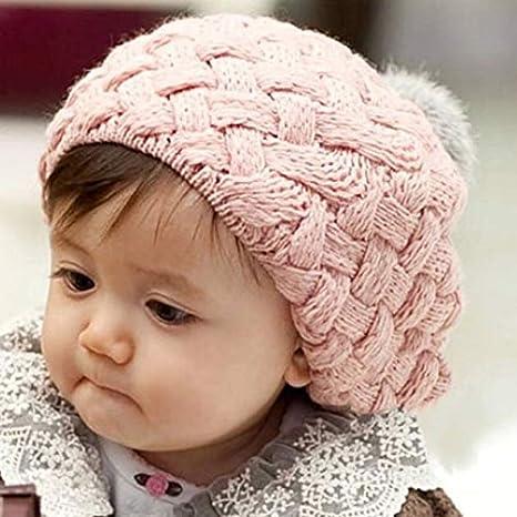 shizhongminghe-ES Sombrero de Invierno para niños Sombrero ...