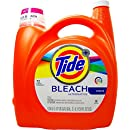 Tide Plus Bleach Alternative Liquid Laundry Detergent, 72 Loads, Original, 138 Fluid Ounce