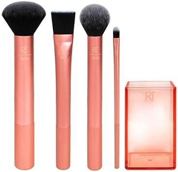 Real Techniques Flawless Base Set - Juego con brochas básicas para un maquillaje impecable: Amazon.es: Belleza