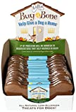 The Lazy Dog 6-Inch Buy A Bone Help Give A Dog A Home Peanut Butter Cookies, 2.5-Ounce
