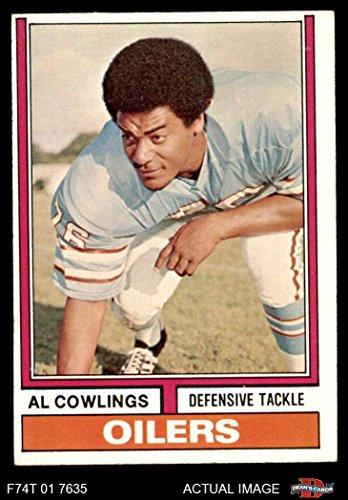 Houston Oilers Memorabilia - 1974 Topps # 501 Al Cowlings Houston Oilers (Football Card) Dean's Cards 5 - EX Oilers