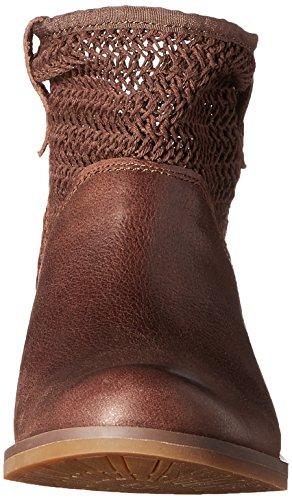 Timberland A14SC Women's Savin Hill Open-Weave Ankle Boots Gr.39 Braun