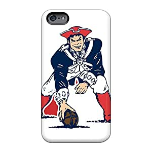 Shock-Absorbing Hard Phone Cases For Apple Iphone 6 (azH620NVqu) Unique Design Colorful New England Patriots Skin