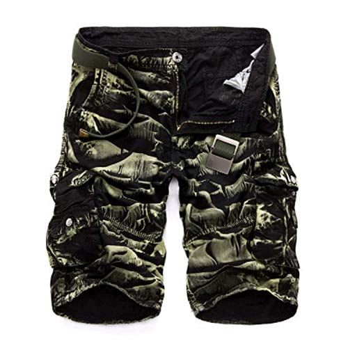 Autumn shallow Fate Camouflage Casual Shorts Male Loose Military Short Pants Plus Size 29-44,BG Camo,32