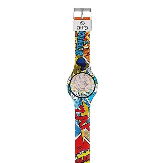 ZITTO Comics pequeño Reloj Digital en Silicona Inception-ME-Mini: Amazon.es: Relojes