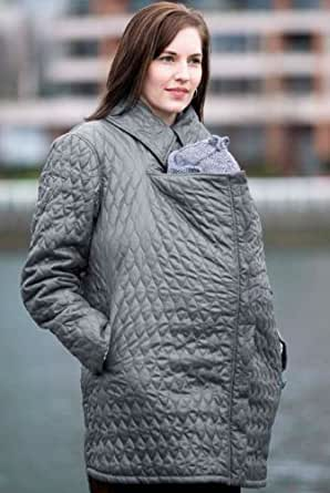 ERGO Baby Papoose Coat - Lightweight Grey