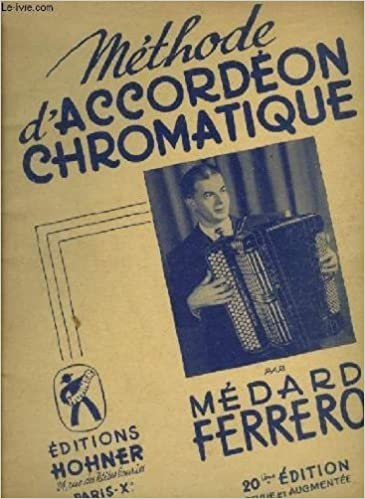 METHODE D'ACCORDEON CHROMATIQUE.