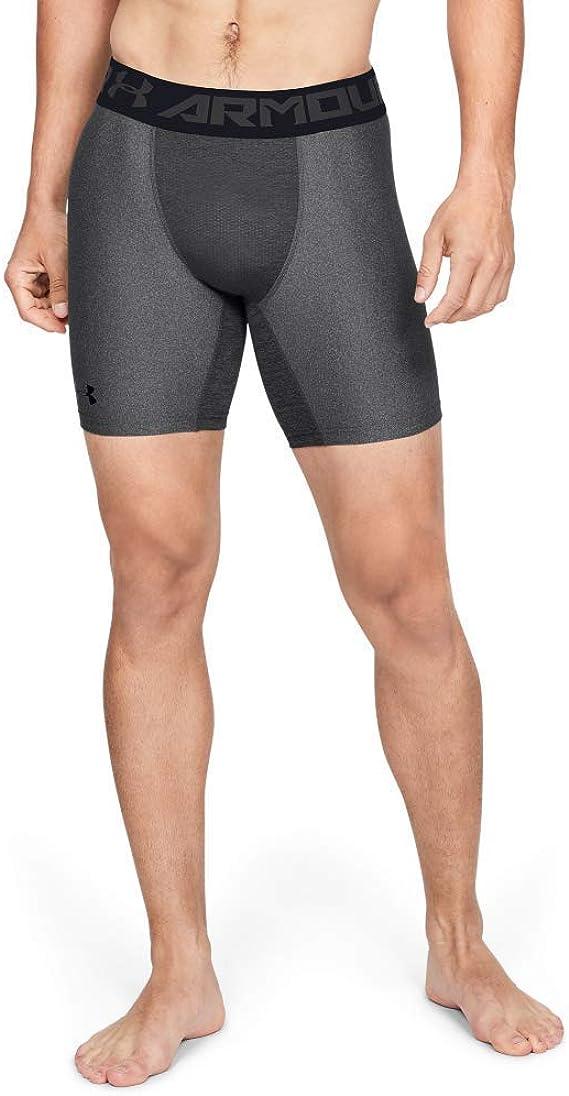 TALLA L. Under Armour HeatGear ARMOUR 2.0 COMP Shorts, Pantalón Corto Hombre