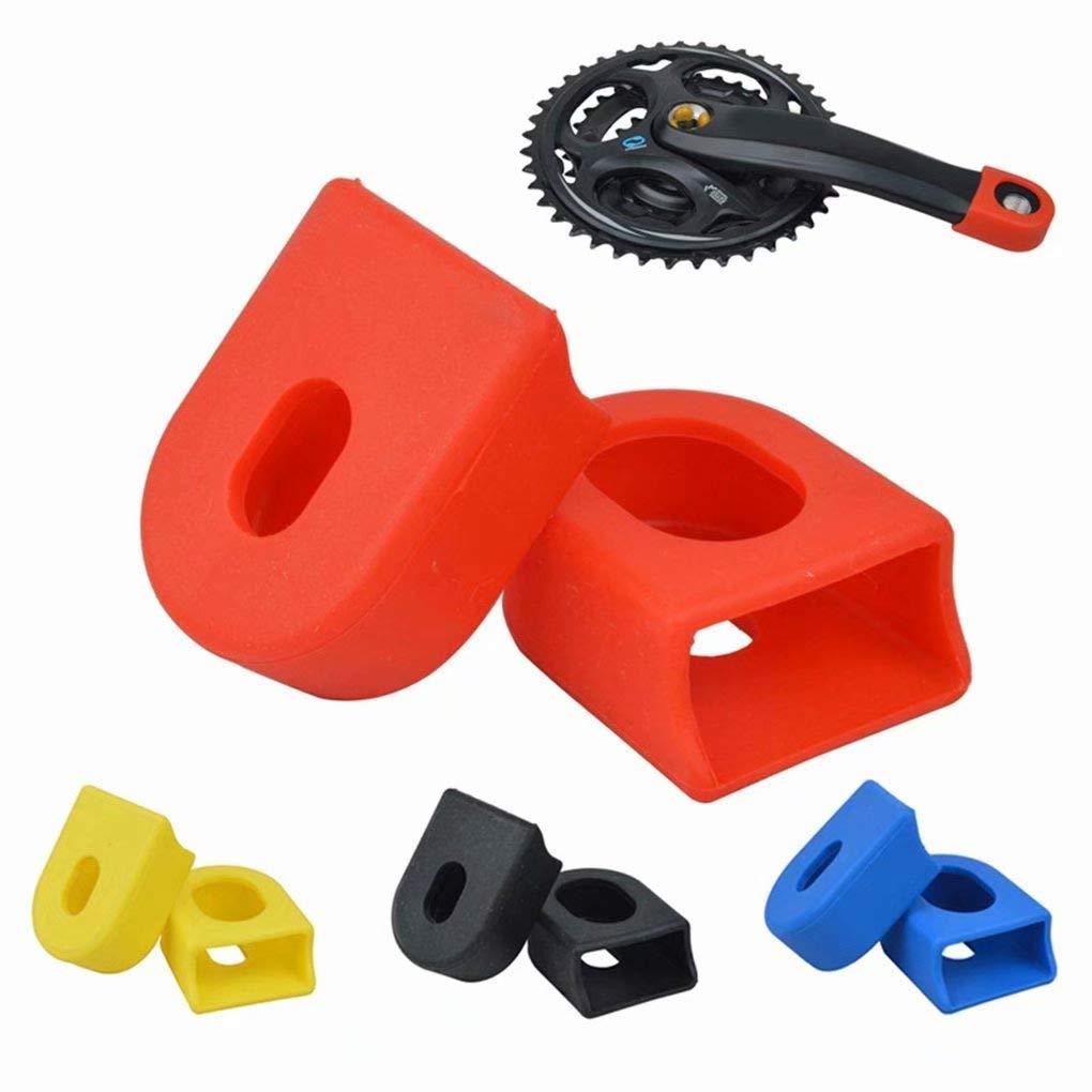 M/últiples colores 2pcs Protector Funda de Bielas Manivela para Brazo Bicicleta de Monta?a Carretera