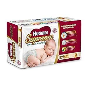 Huggies Pañales Supreme, Unisex, Etapa Recién Nacido, 38 Piezas