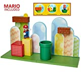 Nintendo Super Mario Acorn Plains 2.5' Figure Playset with Feature Accessories