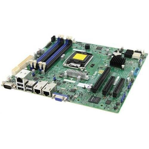 Supermicro X10SLL+-F-O LGA1150/ Intel C222 PCH/ DDR3/ SATA3&USB3.0/ V&2GbE/ MicroATX Server Motherboard