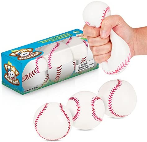 Baseballs Stretch Squishy Moldable Tension product image