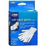 Carex Soft Hand Gloves Small/Medium P75-00 1 Pair (Pack of 6)
