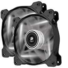 Corsair Air Series AF120 LED Quiet Edition High Airflow Fan Twin Pack CO-9050016-WLED (White)