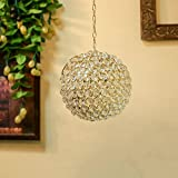 CRYSTAL HANGING PENDANT BALLHAND CUT INDIAN DECORATIVE WEDDING GIFT CRYSTAL GLASS VINTAGE EUROPEAN DESIGN