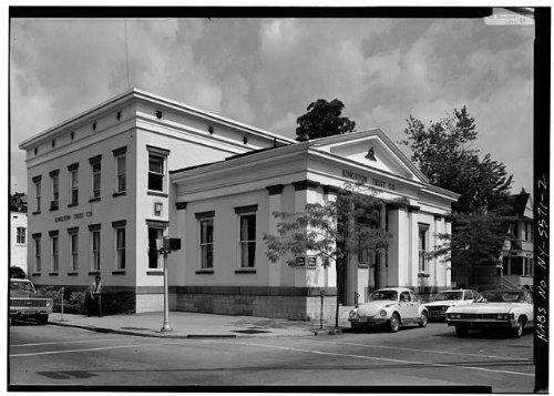 Bank Ulster - HistoricalFindings Photo: Kingston Bank,27 Main Street,Kingston,Ulster County,NY, York,HABS,1