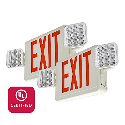 Led Exit Light Combo - 2