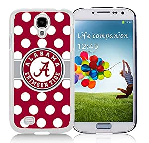 New Fashion Antiskid Skin Case For Samsung S4 Alabama Crimson Tide (4) Samsung Galaxy S4 White Phone Case 009