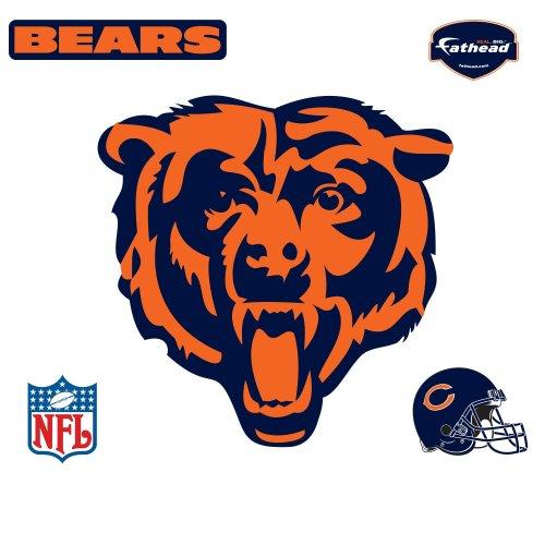 Fathead Chicago Bears Logo Wall Decal Part 8