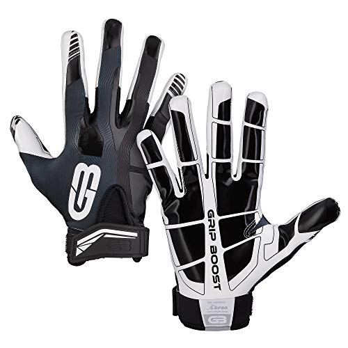 Grip-Boost-Football-Gloves-Mens-1-Grip-Stealth-Pro-Elite-Adult-Youth-Football-Glove-Sizes