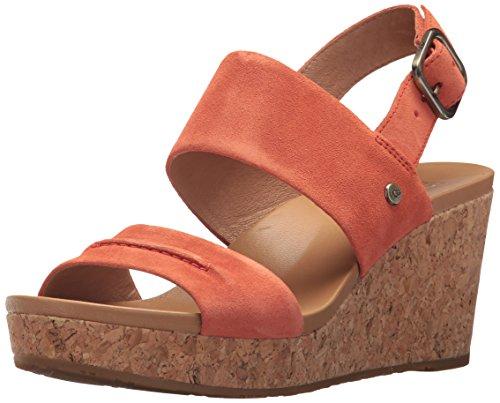 Women's Sandal Coral Wedge Ii Wedged Ugg Vibrant Elena dwqZUyC