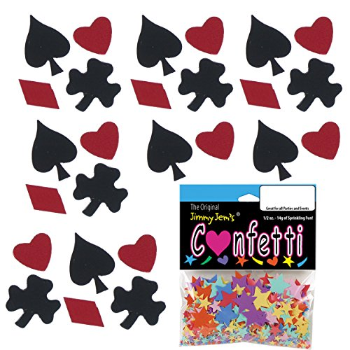 Confetti MultiShape Black Jack Mix - 2 Half Oz Pouches (1 oz) - (CCP8428-01A)