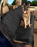 Epica - Deluxe Pet Bench Car Seat Cover, Quilted, Water Resistant, and Machine Washable ,Black (Item# 82247)-56