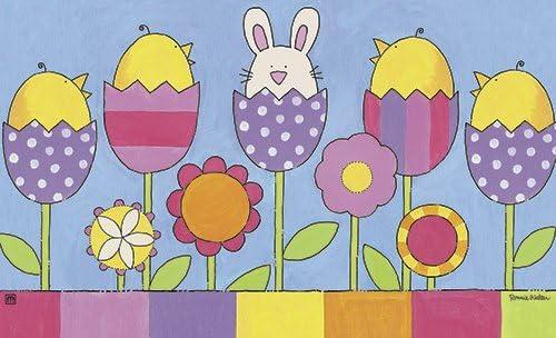 MatMates Easter Garden Doormat