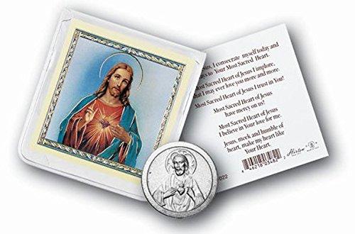 StealStreet SS-Wjh-968-101 Sacred Heart of Jesus Pocket Coin