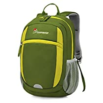 Mountaintop Little Kid & Toddler Backpack for Pre-School and Kindergarten with Chest Strap and Drink Bottle Holder for Camping/Hiking/Traveling