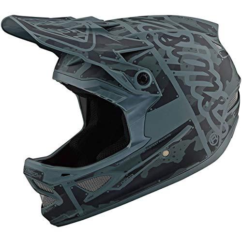 Troy Lee Designs D3 Fiberlite Helmet Factory Camo Green, XXL