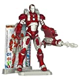 iron man 3 toys - Iron Man Inferno Mission Armor - 3 Armor Cards & Figure Stand Included!